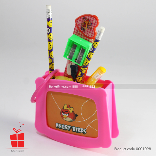 angry birds pencil box set
