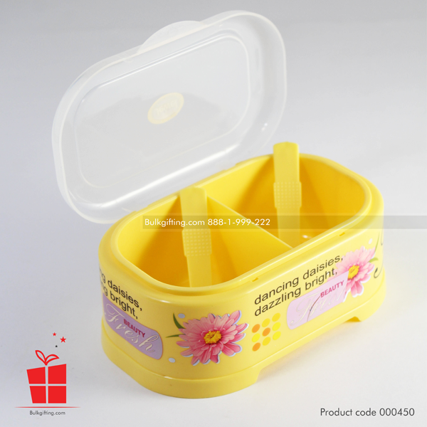 jewel multipurpose two divider pickle container